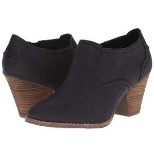 Dr. Scholl's Womens Codi Ankle Boot Booties Heel